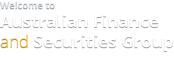 Welcome to Australian Finance and Securities Group
